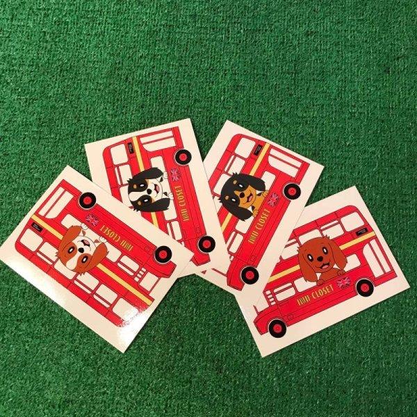 画像1: ロンドンバスキャバリアポストカード (1)