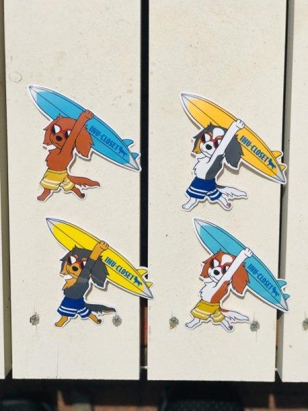 画像1: SURFキャバリアステッカー (1)